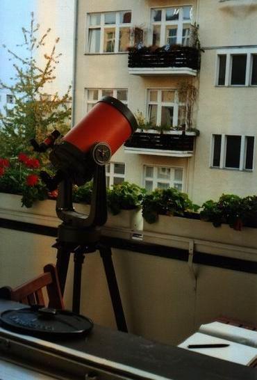 Balkonsternwarte Werne Braune